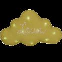 veilleuse nuage lin Moutarde